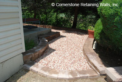 paver patio, Evergreen, Colorado